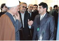 غرفه سایت سیویلیکا (مرجع دانش) در سالن اجراس سران کشورهای اسلامی