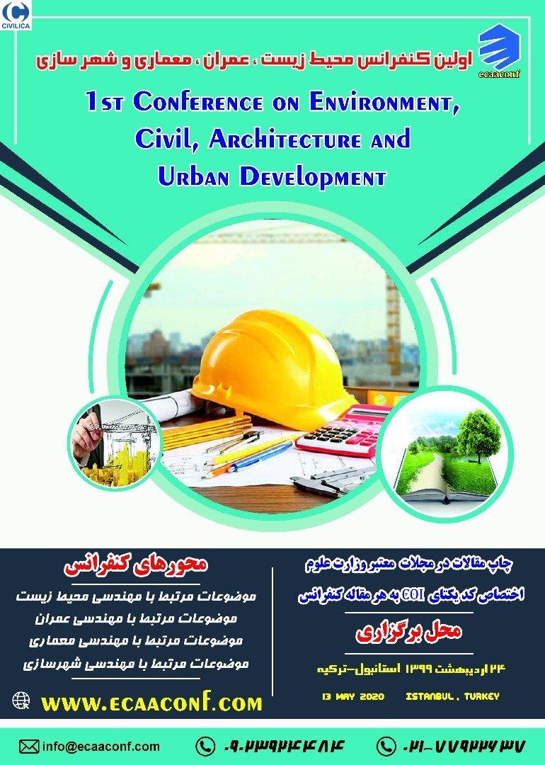 کنفرانس محیط زیست، عمران، معماری و شهرسازی