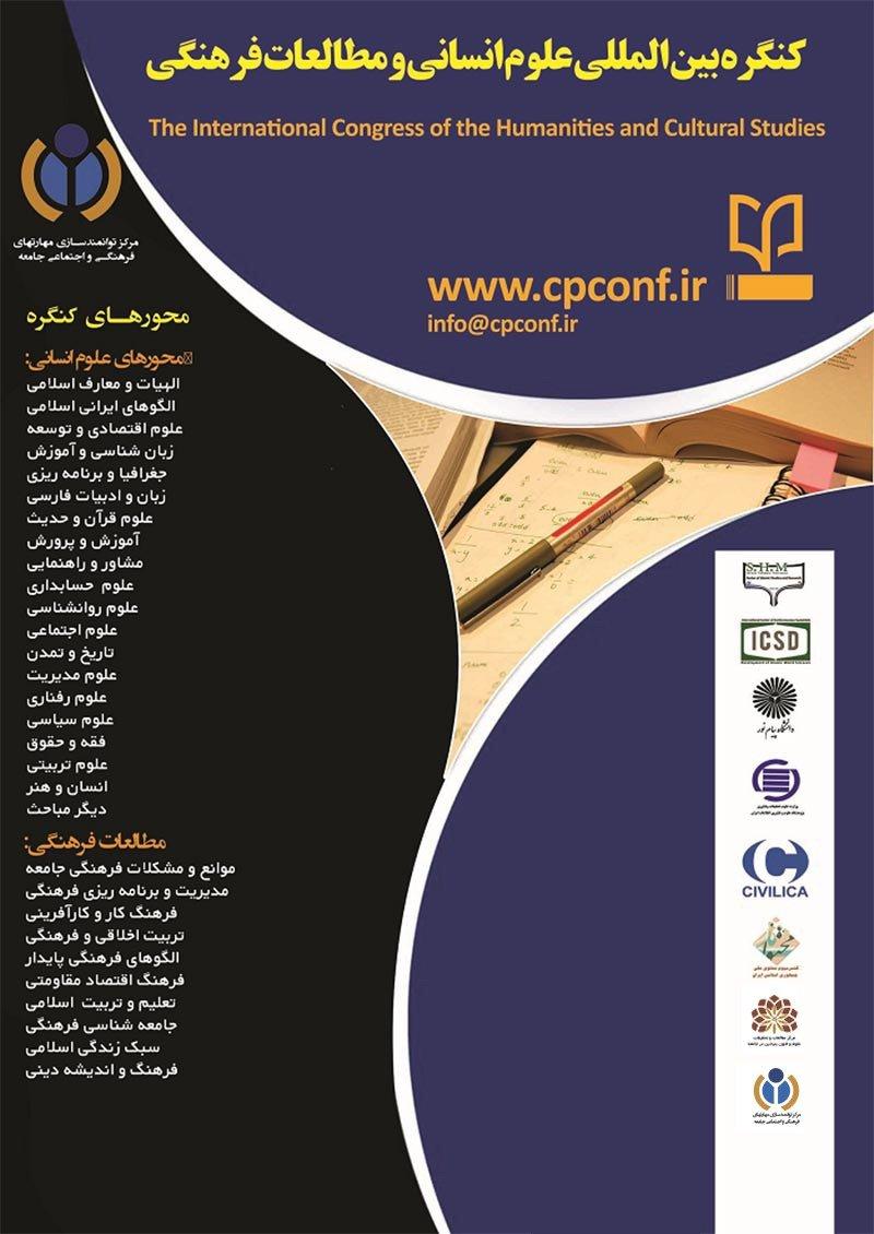 پوستر کنگره بین المللی علوم انسانی، مطالعات رفتاری و آسیبهای فرهنگی اجتماعی جامعه
