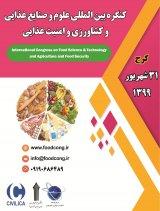 كنگره بين المللي علوم و صنايع غذايي، كشاورزي و امنيت غذايي