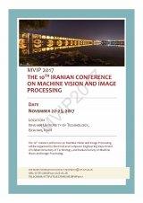 دهمين كنفرانس بينايي ماشين و پردازش تصوير ايران