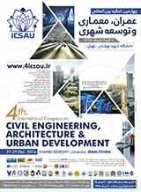 چهارمین کنگره بین المللی عمران ، معماری و توسعه شهری