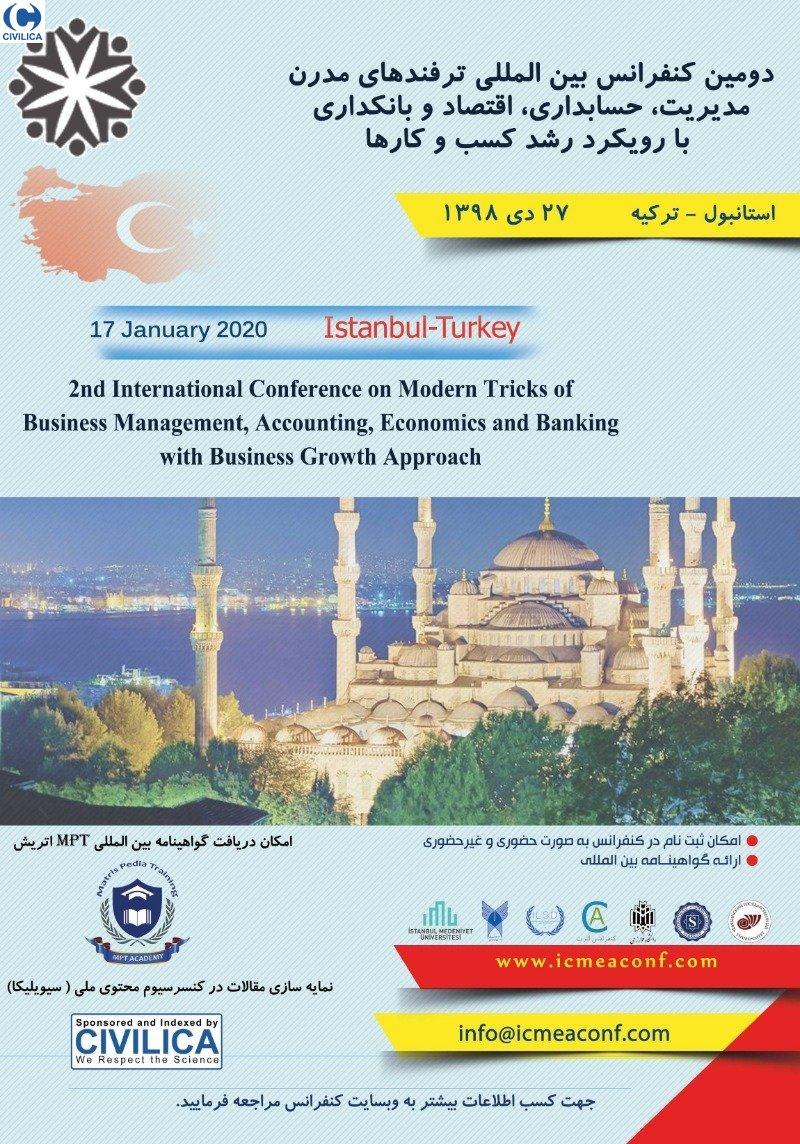 دومین کنفرانس بین المللی ترفندهای مدرن مدیریت، حسابداری، اقتصاد و بانکداری با رویکرد رشد کسب و کارها