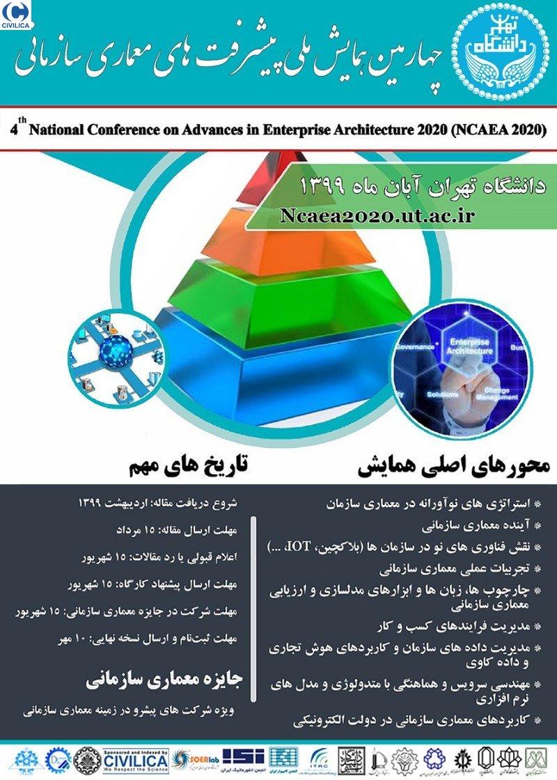 چهارمین همایش ملی پیشرفت های معماری سازمانی
