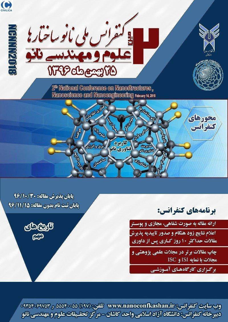 دومین کنفرانس ملی نانو ساختارها،علوم و مهندسی نانو