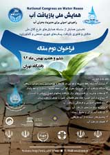 همایش ملی بازیافت آب؛ راهبردی اصولی برای مدیریت بحران آب