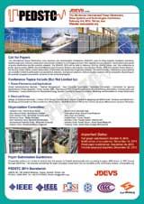 پنجمین کنفرانس بین المللی سیستم ها و فناوری های الکترونیک قدرت  و محرکه های الکتریکی