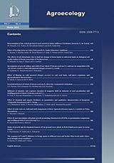 طرح روی جلد فصلنامه بوم شناسی کشاورزی