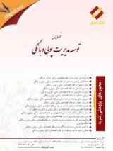 طرح روی جلد فصلنامه توسعه مدیریت پولی و بانکی
