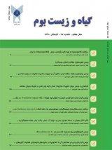 طرح روی جلد فصلنامه یافته های نوین کشاورزی