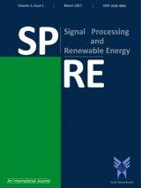 فصلنامه پردازش سیگنال و انرژیهای تجدیدپذیر